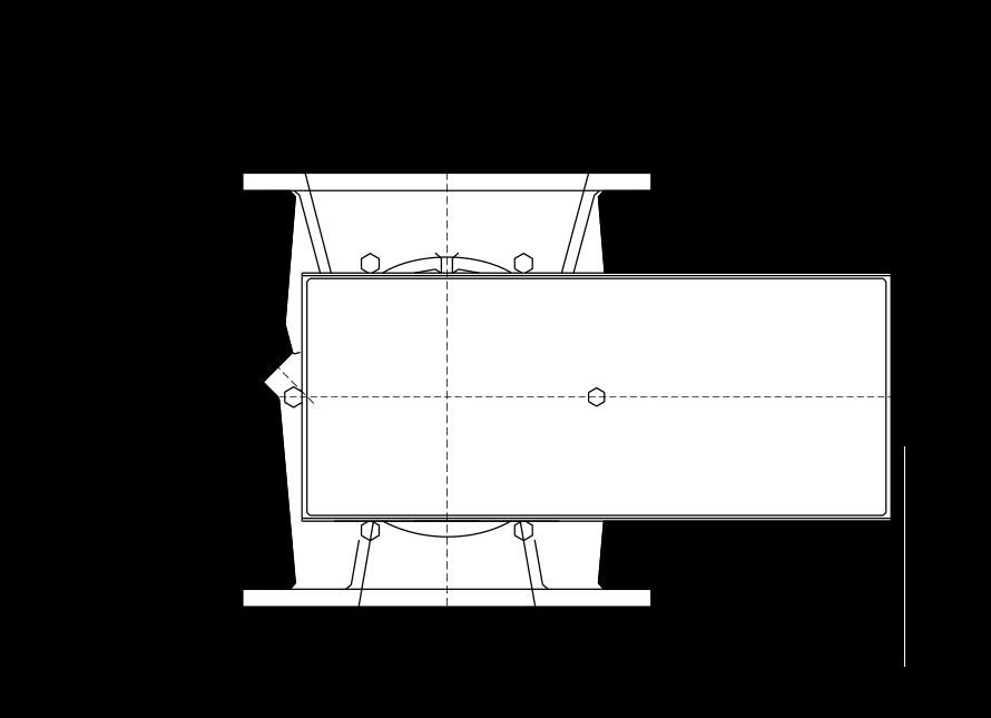Rotary Valve Circular Technical Diagram