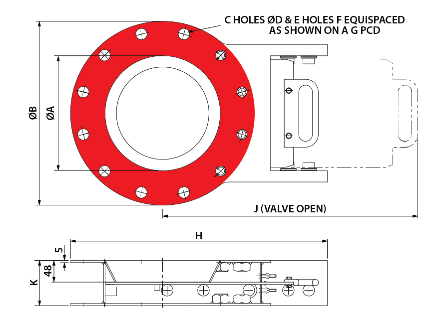 Slide Valve - Manual - Circular GA-01
