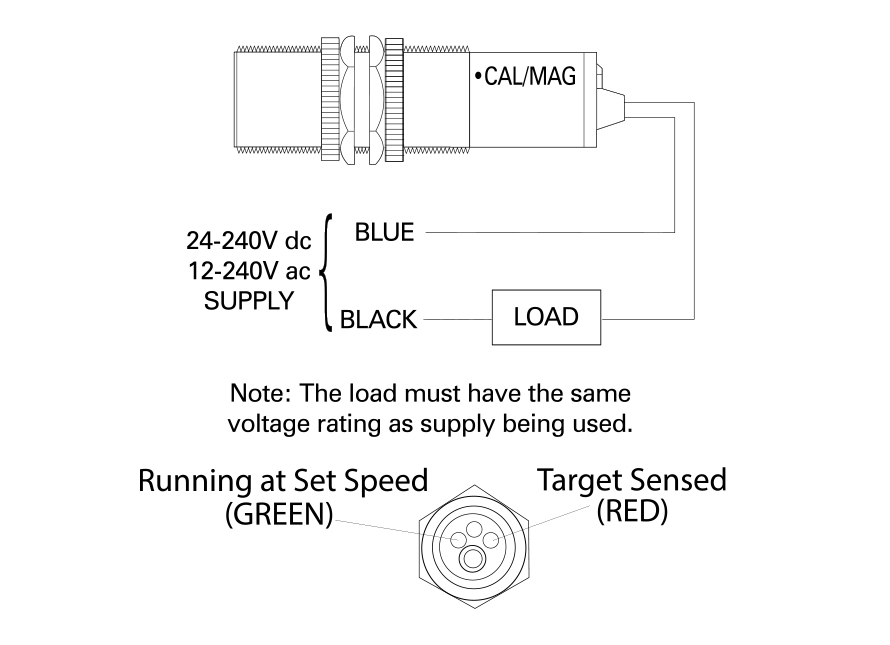 Rotospeed Switch Technical Drawing